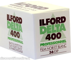 10 x ILFORD DELTA 400 35mm 36 exp CHEAP B&W CAMERA FILM FRESH by 1st CLASS POST 5055393940131
