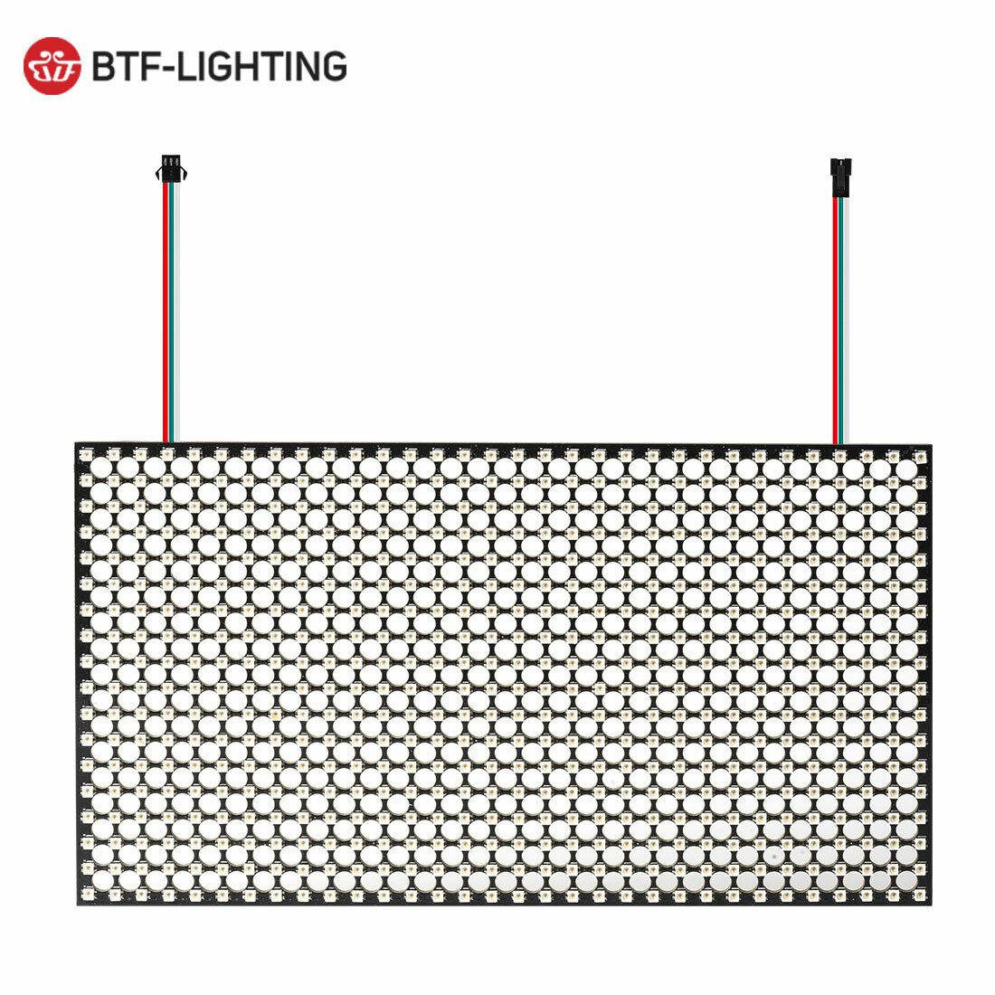 18x32 576 píxel ws2812b 2020smd RGB LED matrix panel 5v individualmente responde