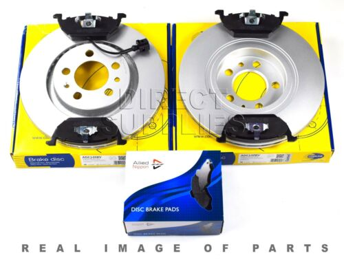 SEAT FRONT AXLE BRAKE SET DISCS /& PADS FOR AUDI SKODA VW ADB1851 ADC1408V