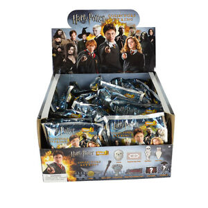 New Full Box 24pcs Harry Potter Blind Bag 3 D Car House