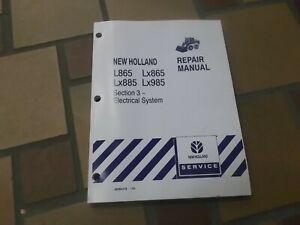 New Holland L865 LX865 Skid Steer Loader Electrical Wiring ... on new holland ls180 wiring diagram, new holland lx665 wiring diagram, new holland l555 wiring diagram,
