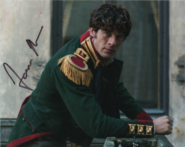 James Norton War and Peace Autographed Signed 8x10 Photo #9