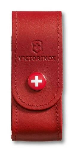 Victorinox Leather Belt Pouch red 4.0520.1