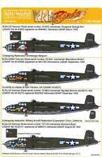 Kits World Decals 1//72 NORTH AMERICAN B-25J MITCHELL Nose Art Part 1