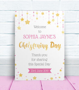 Welcome-to-the-Christening-Day-Personalised-Table-Sign-amp-Poem-Poster-Pink-Blue