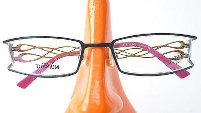 FleißIg Titan Fassung Schmuck Brille Mit Designbügel Damen Leicht Nickelfrei Grün Gr M ZuverläSsige Leistung