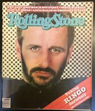 Rolling Stone #342 30th April 1981 Ringo Star Free UK P&P Music Magazine