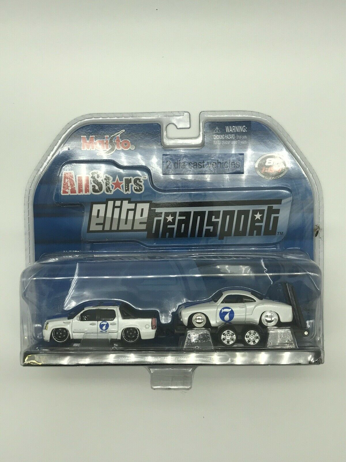 MAISTO ALL STARS ELITE TRANSPORT 2007 CADILLAC ESCALADE EXT   1966 VW Karmann Gh