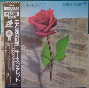 Keith-Jarrett-Death-and-the-Flower-VIM-5646-1979-Jazz-LP-Japan-Vinyl-NM