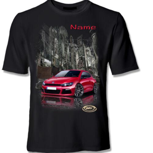 SCIROCCO VW Tuning T Shirt Shirt T-Shirt original YOUTEX