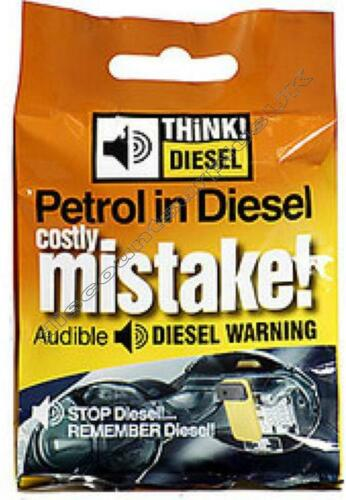 20x THINK DIESEL Audible Fuel Warning Device *Wholesale Resale COUNTER DISPLAY*