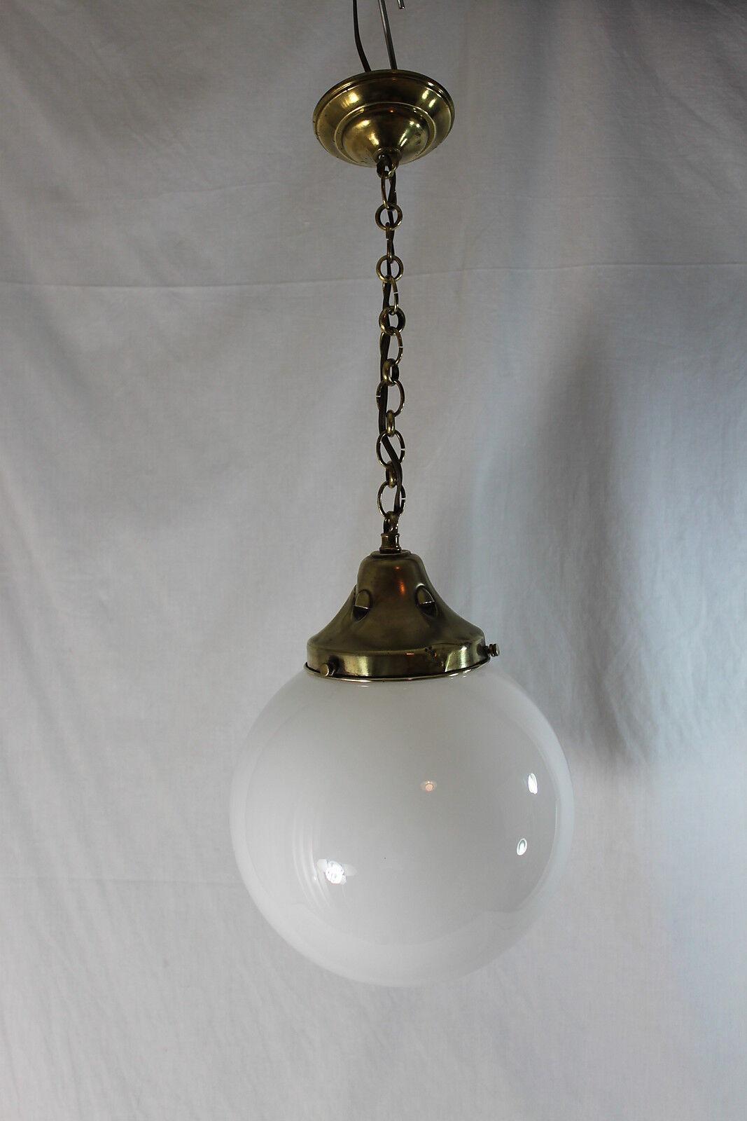 goditi il 50% di sconto ORIGINALE ART DECO opal in vetro-LAMPADA-Lampada a a a sospensione  Sito ufficiale