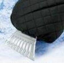 NWT-Mens Tek Gear Black Winter Quilted Ice Scraper Fabric Glove
