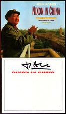 JOHN ADAMS Signed NIXON IN CHINA Edo de Waart 3CD James Maddalena Sanford Sylvan
