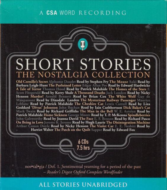 Short Stories The Nostalgia Collection 6CD Audio Book Unabridged FASTPOST