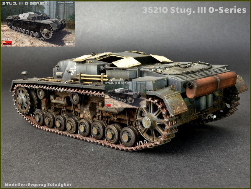 Stug.III 0-Series Tank Plastic Kit 1 35 Model MINIART