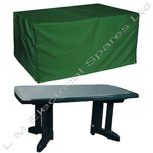 Outdoor 6 Seat Rectangular Family Table Bench Garden Furniture Cover