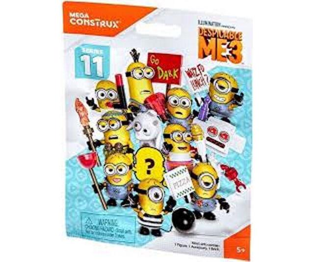 Mega-Bloks Minions  Figures Serie 11  Blind Bag  24 St NEU /& OVP