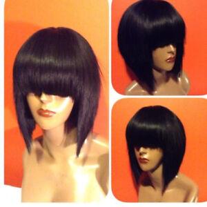 Details about Short Cute Bob Pixie Cut Wig