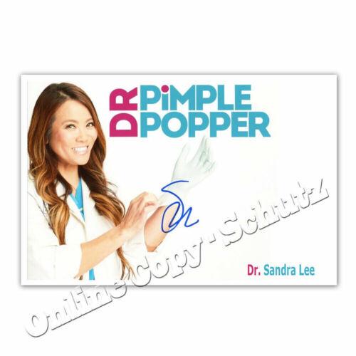 SANDRA LEE Pimple Popper Autogrammfoto   2  DR Dr