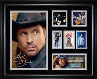 Garth Brooks Signed Framed Memorabilia