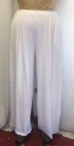 f9f26995688 Coco   Juan Lagenlook Plus Size Pant White Travel Knit Wide Leg Size ...
