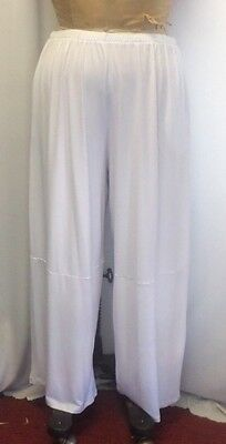 Coco /& Juan Lagenlook Plus Size Black Travel Knit Wide Leg Pant Size 1 Fits 1X2X