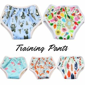 Reusable-Bamboo-Training-Pants-Diaper-Newborn-Baby-Toddler-Unisex-Potty-Boy-Girl