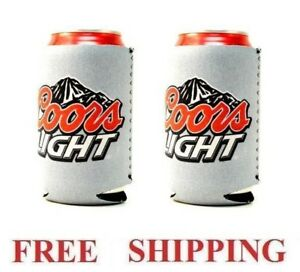 Coors Light 2 Beer Can Holders Cooler Coozie Coolie Koozie Huggie New Ebay Keep your drink chilly with personalized koozies. ebay