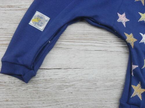 Babyset Strampler Starterset Erstlingsset Mädchen Blau Sterne Mütze 62 68 74 80