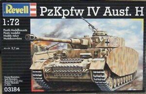 REVELL MODEL KIT RV03184 - Revell 1:72 - PzKpfw.IV Ausf.H