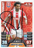 Stoke City F.C Jermaine Pennant Hand Signed Premier League Match Attax 13/14.