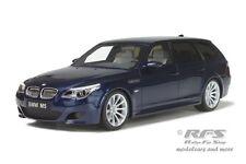 BMW E61 M5 Touring - Baujahr 2007 - blau metallic - 1:18 Otto 542