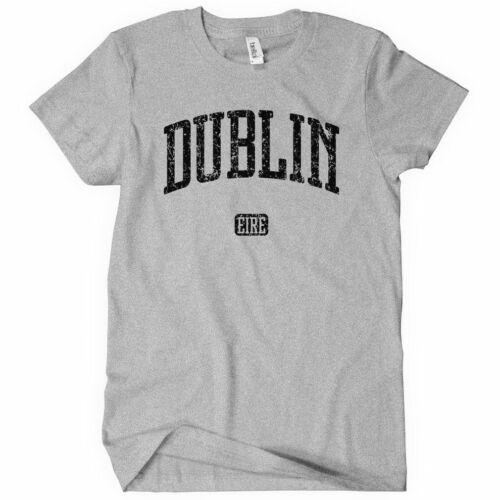 Dublin Women/'s T-shirt Ireland Irish Baile Atha Cliath Eire Ladies S to 2XL