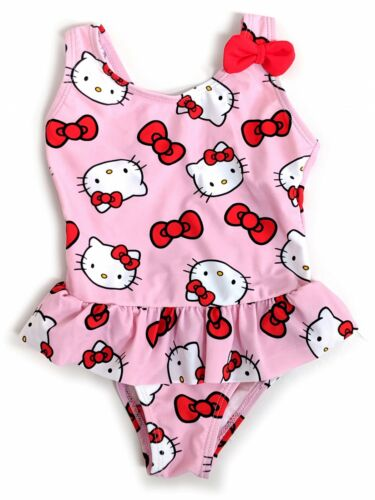 BABY GIRL DISNEY HELLO KITTY SWIMSUIT SWIMMING COSTUME MONTHS 9-12 MONTHS