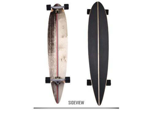 RAM viesez Longboard Skateboard drop through SKATEBOARD BOARD IN LEGNO COMPLETO