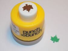 Mini Maple Leaf Punch Bunch 1/4 inch 8mm Scrapbook Paper H35 Dollys Gallery