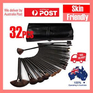 NEW-Professional-Makeup-Brush-Kit-Set-32Pc-Cosmetic-Make-Up-Beauty-Brushes-Black