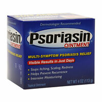 Psoriasin Multi-symptom Psoriasis Relief Ointment 4 Oz (113 G)[pack Of 2]