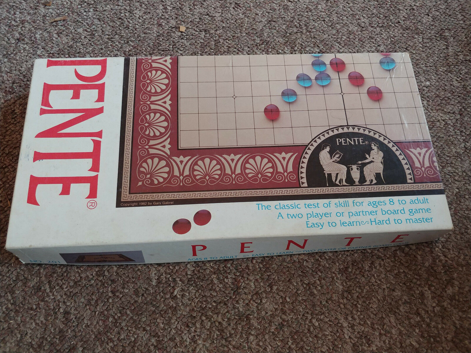 Vintage PENTE 1982 PENTE Vintage Board Game The Classic Game of Skill No. 201 066eab