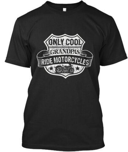 Cool PAPY S Ride Motorcycles Drôle-seulement Lever Standard Unisexe T-Shirt