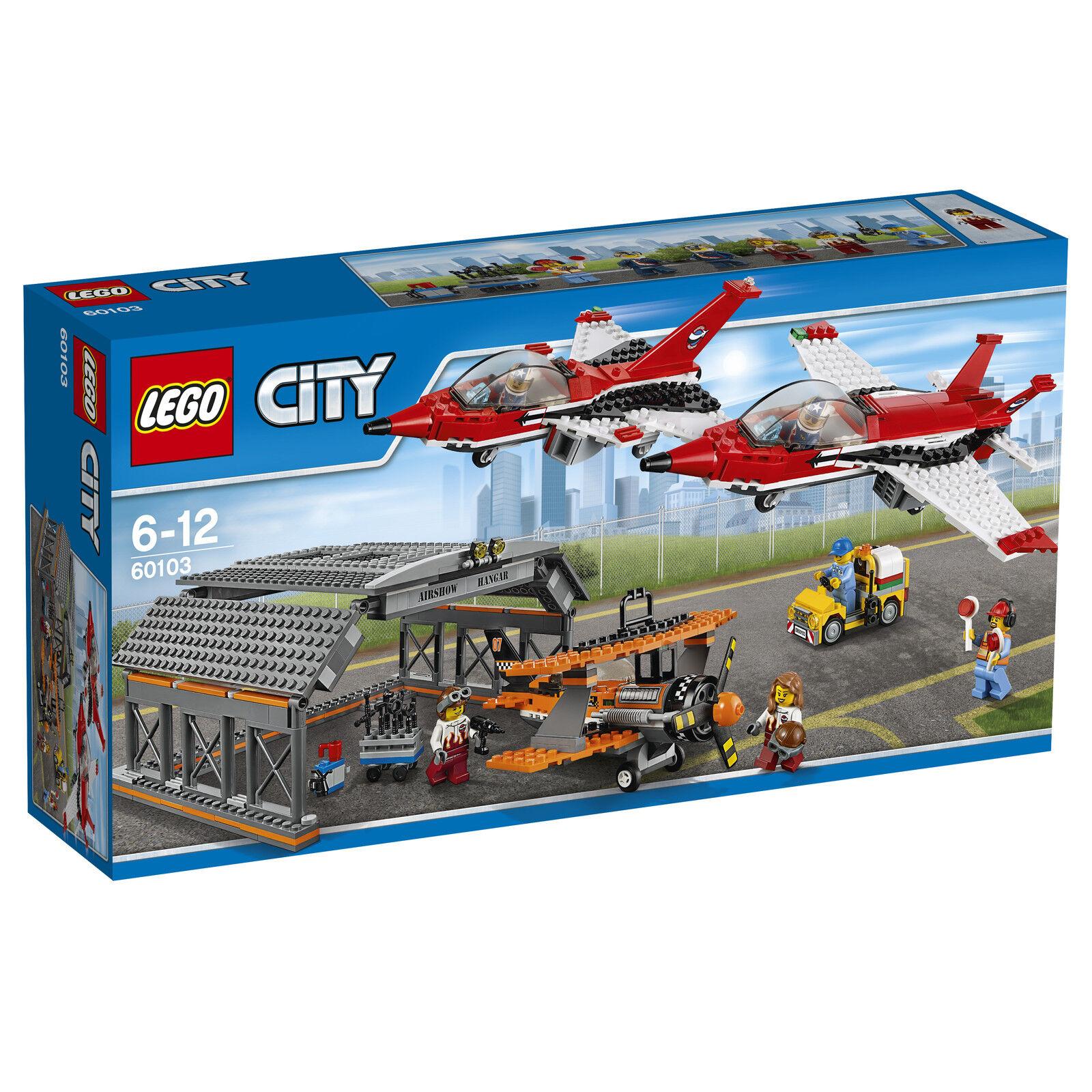 LEGO® City 60103 Große Flugschau NEU OVP_ Airport Air Show NEW MISB NRFB