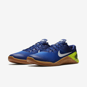 Shoe Metcon 14 Nike Racer Training 4 Blue Shoes White Mens Crossfit XuTOPkZi
