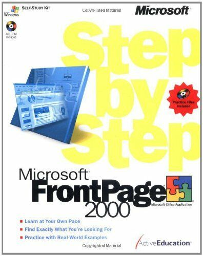 Microsoft® FrontPage® 2000 Step by Step (Step by Step (Microsoft)) By