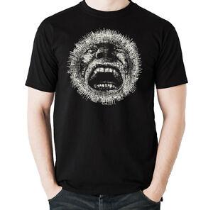 Crazy-Cara-Gotico-Para-Hombre-Estilo-Motero-Camiseta