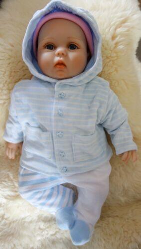 2 Stück wunderschöne Velour Nicki Jacke Cardigan mit Kapuze für Babys Jungen