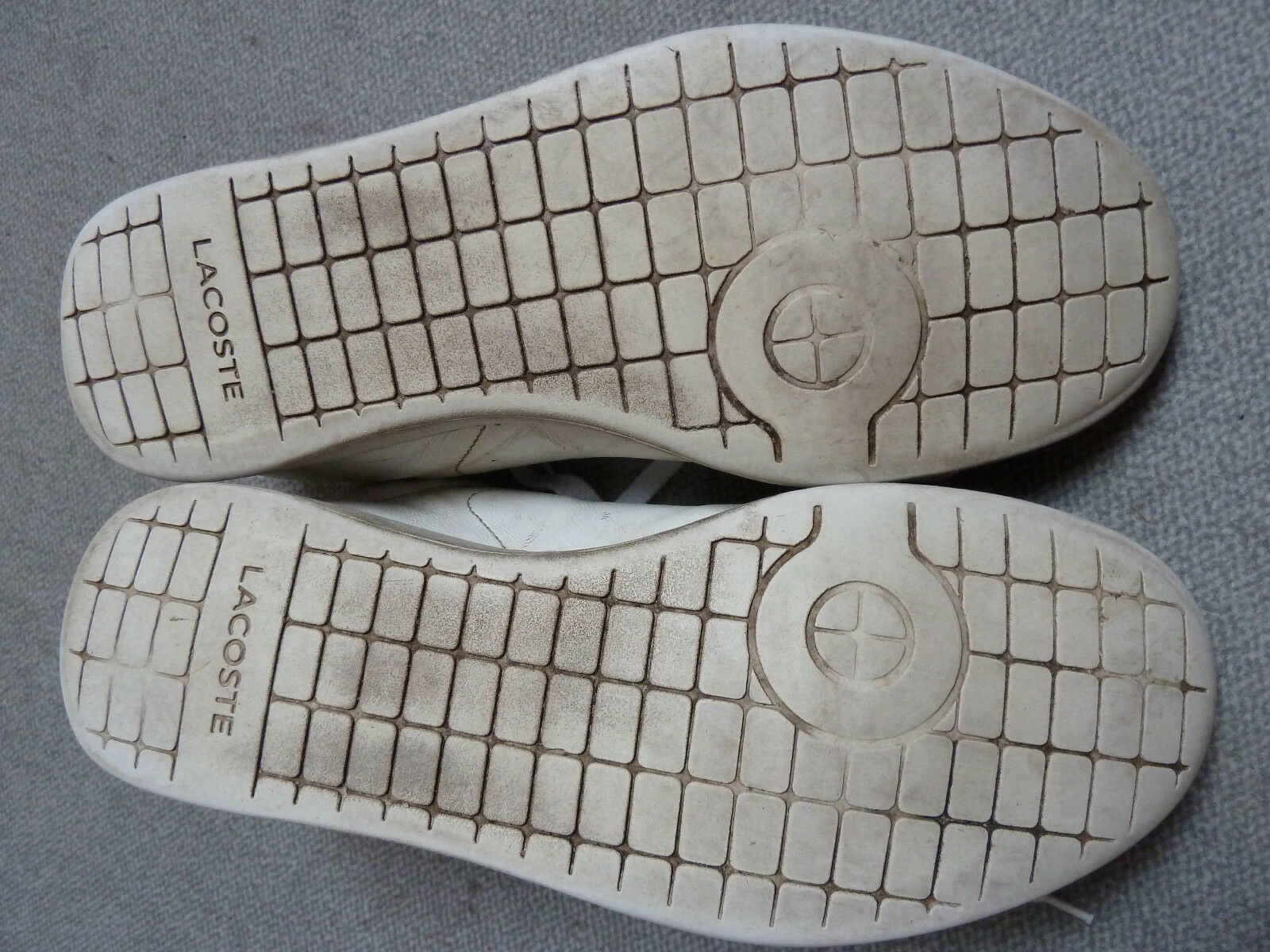 Original Lacoste Carnaby Gr. Evo LCR SPM white Gr. Carnaby 47,5 / US 13 / 31 cm - used 5aeed7