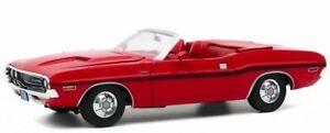 DODGE Challenger R/T - 1970 - red - Greenlight 1:18