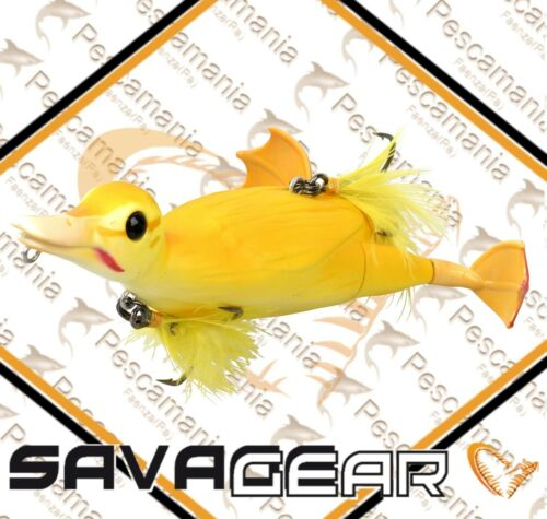 "Savage Gear /'3D Suicide Duck /"" 15cm 70gr Artificial Spinning Pike Bass"