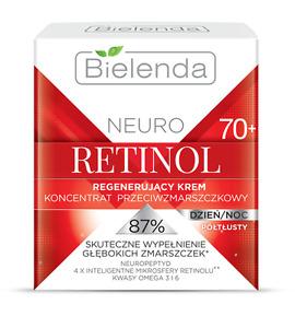 BIELENDA neuro retinol REGENERATING ANTI-WRINKLE CREAM 70+ DAY & NIGHT 50 ml